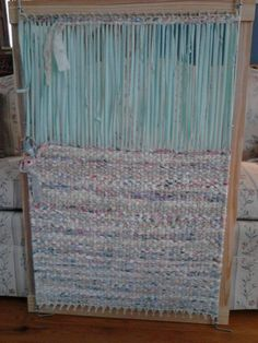 Rag Rug Loom by FarmRoadCreations on Etsy:
