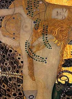 Gustav Klimt, artiste peintre, prodige de la fin du XIXè et début du XXè a su à travers les mouvements Art Nouveau et la Sécession de Vienne construire une histoire de l'art pictural grâce à une richesse des techniques utilisées. Il y a une constante précision dans son travail qui trouve son apogée avec son cycle d'or où la femme devient le personnage emblématique de son oeuvre. J'ai décidé de rendre hommage à Klimt, à son Baiser et à Judith en me servant du tissu Gustave édité par la…