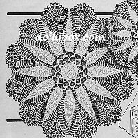 Free Crochet Doily Patterns Round (Just an example of one here)