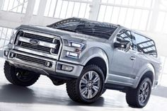 After almost 20 years since the Ford Bronco was last built, we might see an all-new wild steed in the Ford lineup coming soon. Is this the 2016 Ford SVT Bronco? 2017 Ford Bronco, Ford Svt, Ford Raptor, Svt Raptor, Cool Trucks, Big Trucks, Lifted Trucks, Rat Rods, Welding