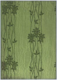 American wallpaper, 1906