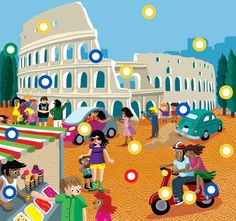 Italië by Paula Prevoo Italy Country, Italian Lessons, How To Speak French, Montessori Activities, Teaching French, Italian Art, Creative Teaching, Toddler Preschool, France