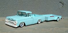 AMT 1961 F-100 plus trailer By: Roger Hayes