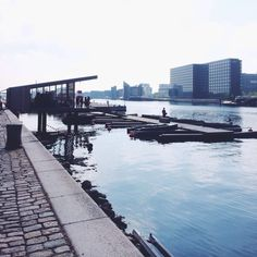 Photo of GoBoat - København, Denmark. GoBoat's elegant dock at Islands Brygge - get out on the water!