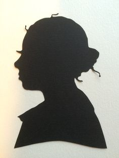 Personalized and Custom Hand Cut Silhouette Wall Decor Wall Hanging Bridal Gift
