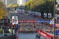 Este domingo 13 de octubre se disputó el Maratón de Chicago 2013 con 45,000 corredores en la línea de salida. TRIBUNE