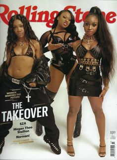 SZA, Megan Thee Stallion, Normani on the Cover of 'Rolling Stone'