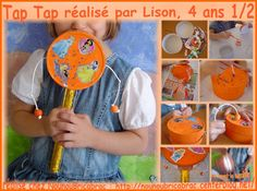 Tap Tap *3* réalisé par Lison, 4 ans 1/2 Tap Tap, Instruments, School, Worksheets, Centre, Parents, Kids, Art, Fiestas