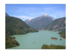 Diablo Lake - North Cascades National Park #VirtualTourist