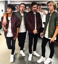 Recently I've fallen in love with these 4 sexy Swedish boys known as The Fooo Conspiracy. Made up of Oscar Enestad, Oscar 'Olly' Molander, Felix Sandman and Omar Rudberg. Hope you like it!