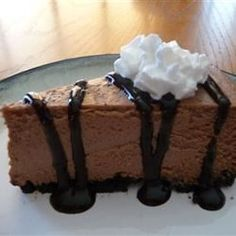 Guinness(R) and Chocolate Cheesecake - Allrecipes.com