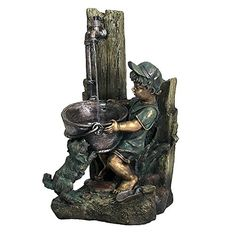 Sunnydaze Boy and Dog Fetching Water Outdoor Fountain with LED Lights, 30 Inch Tall Sunnydaze Decor http://www.amazon.com/dp/B00YVMH3EO/ref=cm_sw_r_pi_dp_eYQNvb1NJJ61A