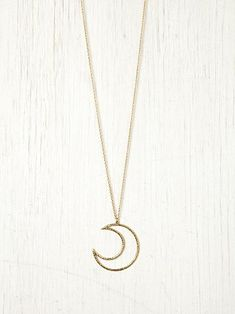 Free People Lune Pendant
