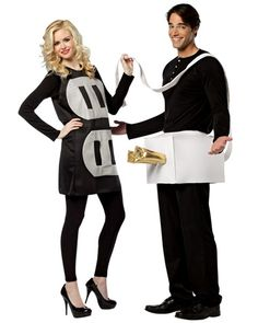 Couples Plug  Socket Costume for Adults - Womens Humorous Halloween Costumes