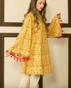 Short Frocks, Pakistani Wedding Outfits, Dress Sewing Patterns, Salwar Suits, Fancy Dress, Designer Dresses, Kimono Top, Fashion Dresses, Bell Sleeve Top