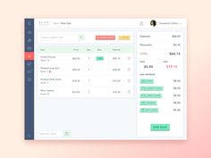 Point of Sale dashboard by Laura Lanzoni