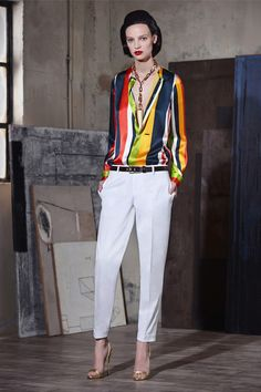 Dsquared² | Resort 2015 Collection | Style.com Something about this pattern is flirting with Pucci....