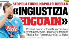 Rassegna stampa sportiva Italia: Higuain, ingiustizia è fatta - http://www.maidirecalcio.com/2016/04/06/rassegna-stampa-sportiva-italia-higuain-ingiustizia.html