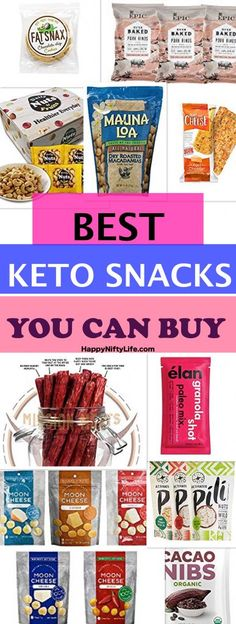 The Best Keto Snacks to Buy for Convenient Low Carb Snacking One of the habits most of us struggle to break is the impulse to buy convenience snacks. Convenient snacks are everywhere we look (duh…More 12 Guilt Free Keto Friendly Snack Ideas Keto Snacks To Buy, Good Keto Snacks, Keto Food List, Food Lists, Healthy Snacks, Healthy Store Bought Snacks, Healthy Kids, Keto Snacks On The Go Ketogenic Diet, Best Snacks