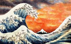 The Great Wave by EpicLoop.deviantart.com on @DeviantArt