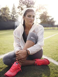Hope Solo... my favorite fitspiration. I have many favorites. Infact I never met one that wasn't my favorite.