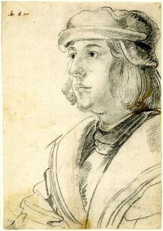 Young man, ca. 1515/25, Albrecht Dürer (1471-1528)