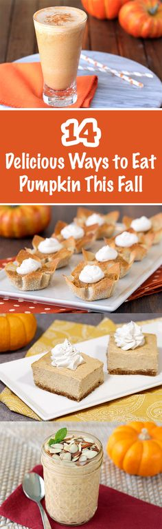 All the healthy pumpkin recipes you need to get through the rest of the fall can be found right here! From sweet treats to savory eats, it's time to crack open a can of pumpkin puree... All of 'em have UNDER 250 CALORIES! PIN!
