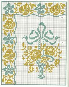 Схемы для салфеток (крестик)