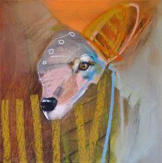 "Wonder, Rebecca Haines, 12x12"" oil/canvas, $950. #santafeart #rebeccahaines #pippincontemporary"