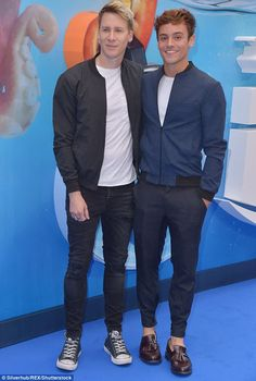 Wedding prep: Tom and Dustin announced their engagement in October 2015 and are currently preparing for their nuptials