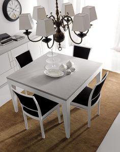 MASSON MATIÉE Arredamento moderno, armadi, comò e comodini tavoli e sedie, camere da letto | D30 Tavolo quadrato . D40 Sedia