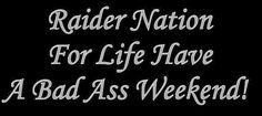 #RAIDERS