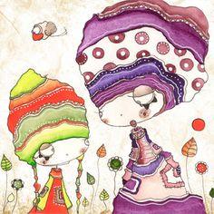 Nurvero Artiste : Laëtitia Percheron (illustratrice)