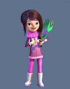 "Loretta Callisto from ""Miles from Tomorrowland,"" I love the bracelex and I really want one!"