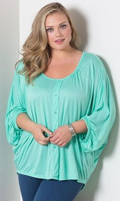Katie Pullover Top $49.90 by SWAK Designs #swakdesigns #PlusSize #Curvy