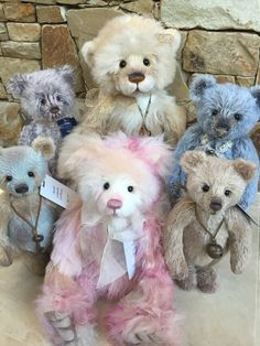 Charlie Bears Sullivan Mohair Limited Edition Isabelle Collection Bnwt & Bag Always Buy Good Bears Manufactured
