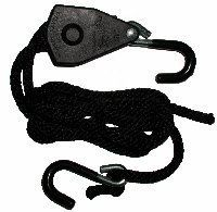 "Quickie Tie-Downs - 3/8"" QUICKIE TIE-DOWN by Various. $12.89. Quickie Tie-Downs - Tie Down System pulls tight and locks tight in an instant, holds cargo safe and secure. Made tough with glass filled nylon casing, plated steel rubber-dipped hooks and 8 ft. of p"