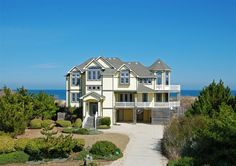 Twiddy Outer Banks Vacation Home - Whale of a View - Corolla - Oceanfront - 6 Bedrooms