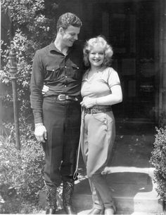 Clara Bow and Rex Bell  - Married 31 years  (m. 1931–1962) his death