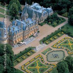 waddesdon manor  | waddesdon manor buckinghamshire ein ehemaliger rothschild besitz