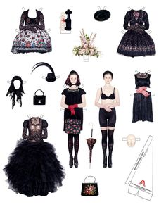 Susanne Bisovsky paperdoll collection