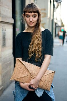 i want to make this cork clutch