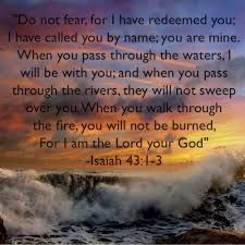 Image result for Isaiah 43:1b image