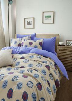 Leaves Floral Blue Bedding Girls Bedding Teen Bedding Kids Bedding