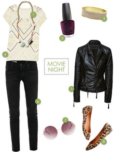 Clothes to Party In (Movie Night)   Oh Happy Day!