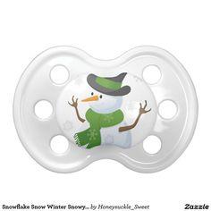 Snowflake Snow Winter Snowy Blizzard Snowman