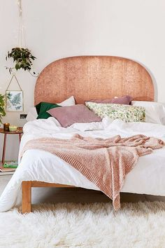 Slide View: 1: Blair Copper Headboard