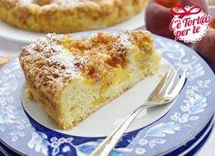 Ecco un #dolce che nasce da un accostamento goloso: #TortaSoffice di pesche e amaretti.  Clicca e scopri come preparare la #ricetta...