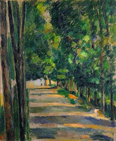 Paul Cezanne - Avenue ca 1880-82