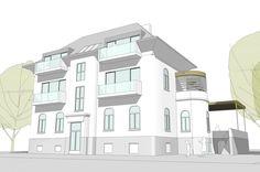 Stadtvilla Wien Multi Story Building, Homes